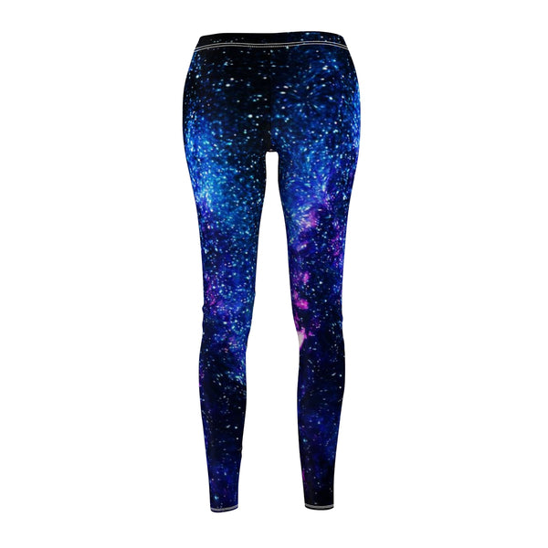 Galaxy Cosmos Space Purple Best Women's Casual Leggings, Made in USA(US Size: XS-2XL)-Casual Leggings-Heidi Kimura Art LLC Galaxy Cosmos Leggings, Galaxy Cosmos Space Purple Best Women's Fancy Dressy Cut & Sew Casual Leggings - Made in USA (US Size: XS-2XL) Galaxy Leggings, Galaxy Print Leggings, Space Tights, Galaxy Workout Leggings, Galaxy Leggings Outfit, Galaxy Leggings Plus Size, Galaxy Running Leggings