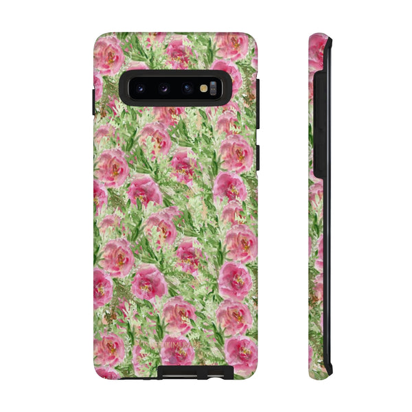 Garden Rose Phone Case, Roses Floral Print Tough Designer Phone Case -Made in USA-Phone Case-Printify-Samsung Galaxy S10-Matte-Heidi Kimura Art LLC