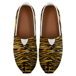 Saki Orange Bengal Tiger Stripe Animal Print Women's Casual Slip On Sneakers,Tiger Women Shoes,Tiger Shoes,Tiger Gifts,Tiger Women's Loafers Saki Elite Luxury Orange Bengal Tiger Stripe Animal Print Women's Comfy Flats Casual Shoes, Slip-On Sneakers (US Size: 4.5-14) Saki Orange Bengal Tiger Stripe Women's Comfy Flats Casual Shoes, Slip-On Sneakers