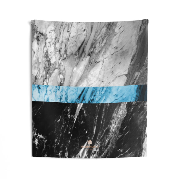 Copy of Grey Black Marble Print Designer Indoor Wall Tapestries- Made in USA-Home Decor-51x60-Heidi Kimura Art LLC