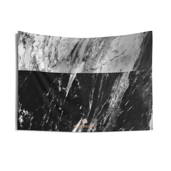 Copy of Grey Black Marble Print Designer Indoor Wall Tapestries- Made in USA-Home Decor-36x26-Heidi Kimura Art LLC