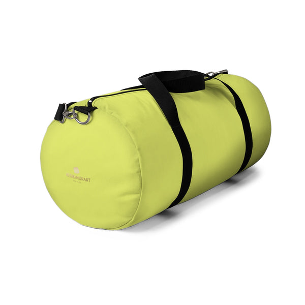 Kobe Light Yellow Solid Color All Day Small Or Large Size Duffel Bag ... 066116c364f16