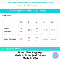 f329f565939237 Akai Black Women's Cotton Yoga Capri Pants Leggings With Pockets Plus Size  Available- Made In