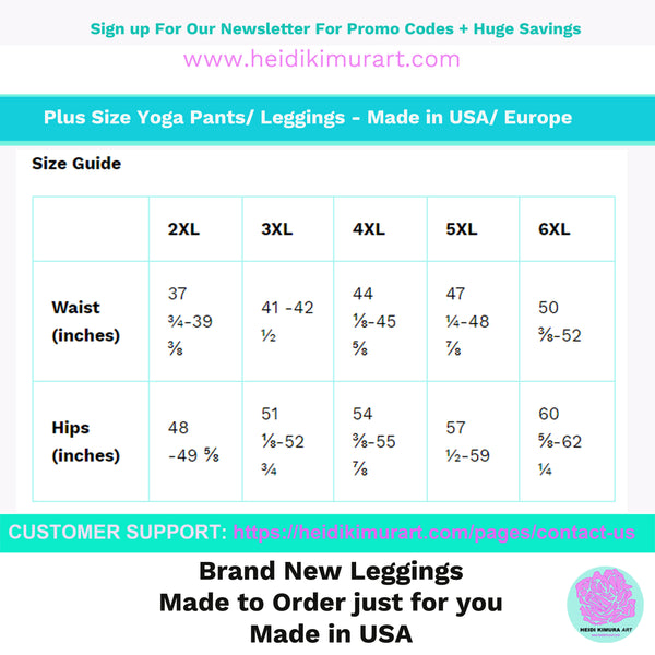 Cow Print Plus Size Women's Workout Fitness Sports Yoga Pants Long Leggings-Women's Plus Size Leggings-Heidi Kimura Art LLC