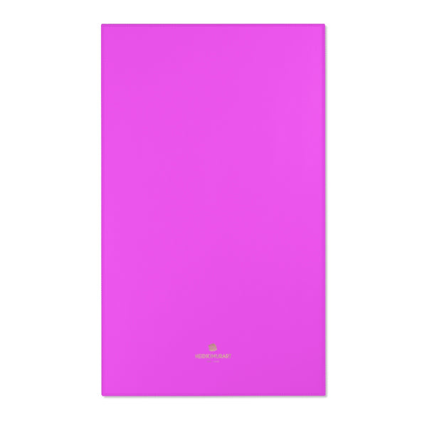 "Hot Pink Solid Color Designer 24x36, 36x60, 48x72 inches Area Rugs- Printed in the USA-Area Rug-36"" x 60""-Heidi Kimura Art LLC"