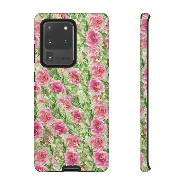 Garden Rose Phone Case, Roses Floral Print Tough Designer Phone Case -Made in USA-Phone Case-Printify-Samsung Galaxy S20 Ultra-Matte-Heidi Kimura Art LLC