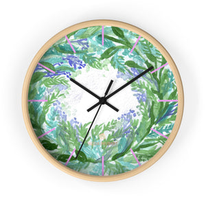Akane Violet Purple Pastel Color French Lavender 10 in. Dia. Indoor Wall Clock- Made in USA