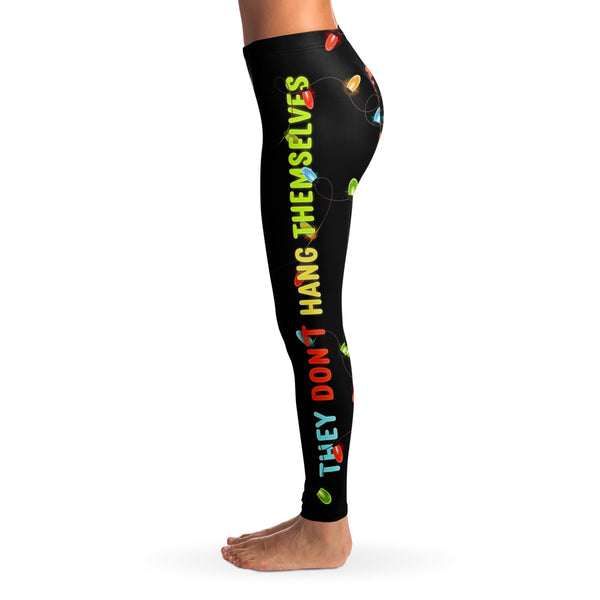 Christmas Lights Leggings-Leggings - AOP-Subliminator-Heidi Kimura Art LLC