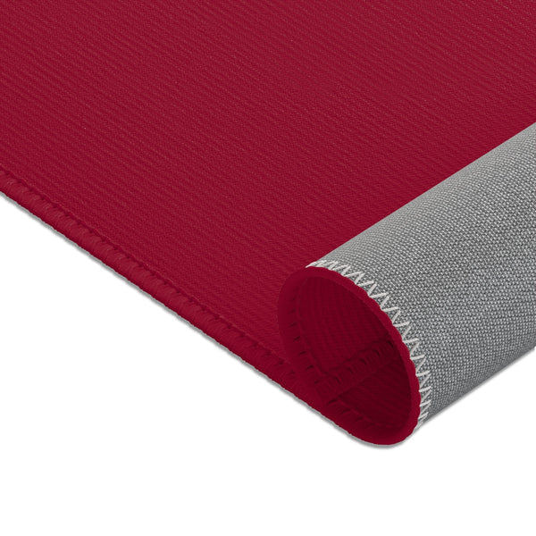 Burgundy Solid Color Designer 24x36, 36x60, 48x72 inches Area Rugs- Printed in the USA-Area Rug-Heidi Kimura Art LLC