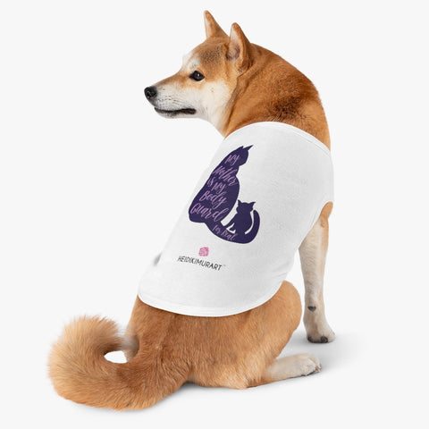 Best Pet Tank Top For Dog/ Cat, Purple Lovely Heart Mom Premium Cotton Pet Clothing For Cat/ Dog Moms, For Medium, Large, Extra Large Dogs/ Cats, (Size: M, L, XL)-Printed in USA, Tank Top For Dogs Puppies Cats, Dog Tank Tops, Dog Clothes, Dog Cat Suit/ Tshirt, T-Shirts For Dogs, Dog, Cat Tank Tops, Pet Clothing, Pet Tops, Dog Outfit Shirt, Dog Cat Sweater, Gift Dog Cat Mom Dad, Pet Dog Fashion