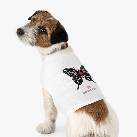Best Pet Tank Top For Dog/ Cat, Butterfly Lovely Mom Premium Cotton Pet Clothing For Cat/ Dog Moms, For Medium, Large, Extra Large Dogs/ Cats, (Size: M, L, XL)-Printed in USA, Tank Top For Dogs Puppies Cats, Dog Tank Tops, Dog Clothes, Dog Cat Suit/ Tshirt, T-Shirts For Dogs, Dog, Cat Tank Tops, Pet Clothing, Pet Tops, Dog Outfit Shirt, Dog Cat Sweater, Gift Dog Cat Mom Dad, Pet Dog Fashion