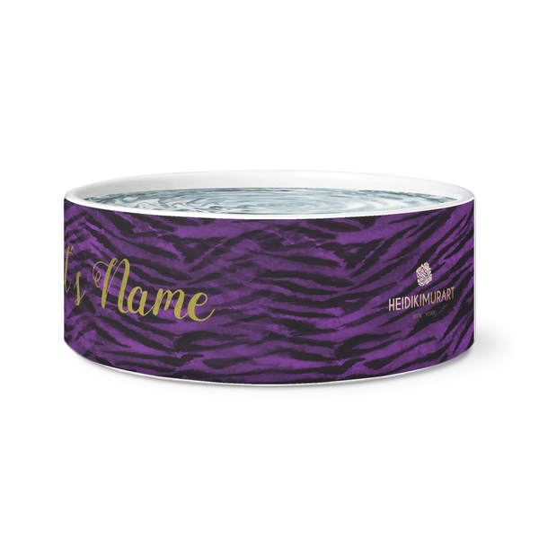 Custom Or Regular Extra Large Pet's Bowl for your Cats/ Dogs - Made in USA