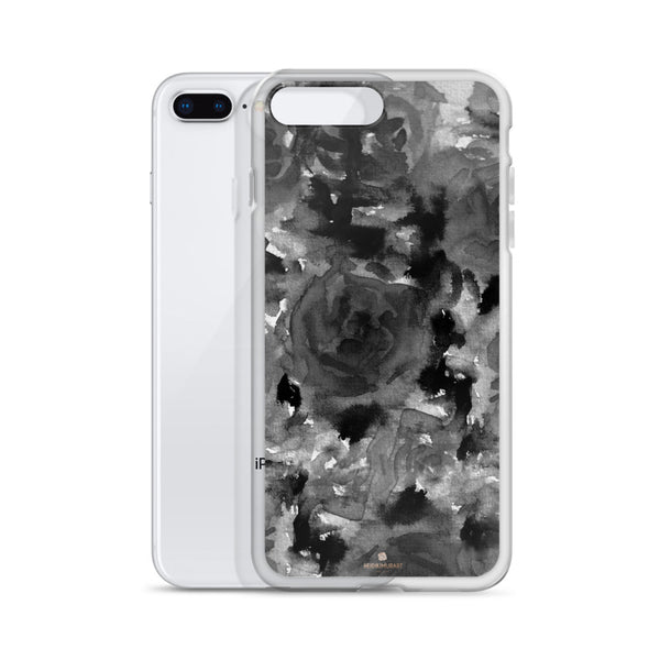 Crow Black Rose Floral, iPhone X | XS | XR | XS Max | 8 | 8+ | 7| 7+ |6/6S | 6+/6S+ Case- Made in USA-Phone Case-Heidi Kimura Art LLC
