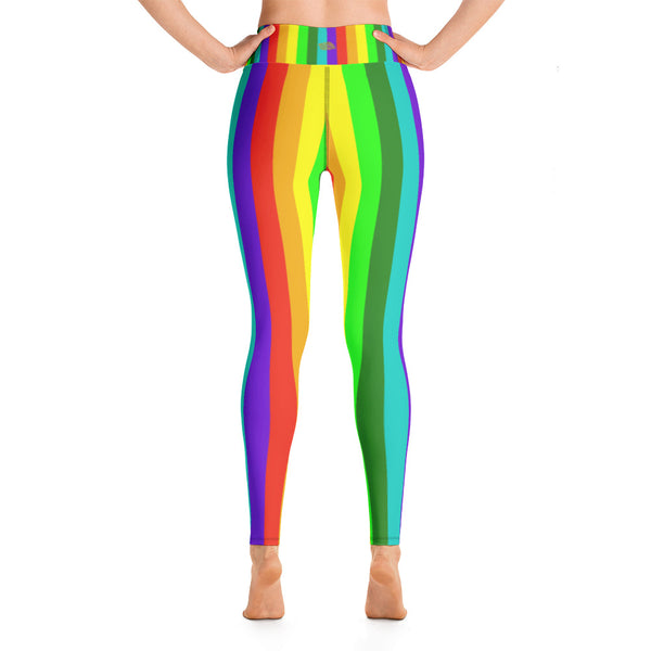 9f5e730d575edf ... Misha Womens Rainbow Gay Pride Parade Costume Active Fitted Leggings  Sports Yoga Pants - Made in ...