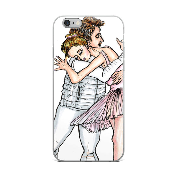 Dancing Ballet Couple, iPhone X | XS | XR | XS Max | 8 | 8+ | 7| 7+ |6/6S | 6+/6S+ Case- Made in USA-Phone Case-iPhone 6 Plus/6s Plus-Heidi Kimura Art LLC