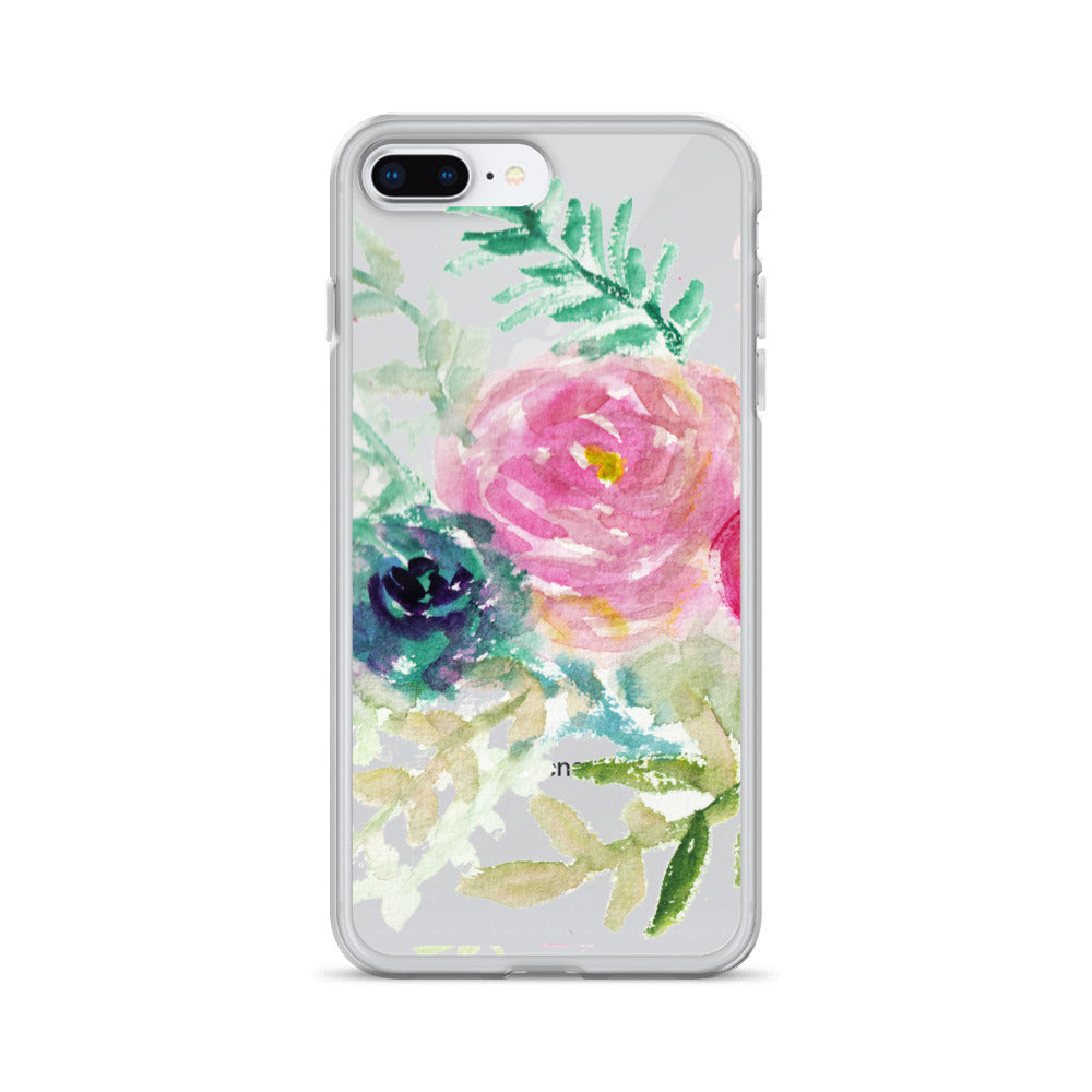 Pastel Pink & Purple Perfection, iPhone X | XS | XR | XS Max | 8 | 8+ | 7| 7+ |6/6S | 6+/6S+ Case- Made in USA-Phone Cases-iPhone 7 Plus/8 Plus-Heidi Kimura Art LLC