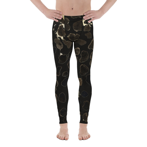 453fcf1203eec3 Arihiro Brown Animal Cow Print Sexy Hot Fashionable 38-40 UPF Fitted Yoga  Pants Running