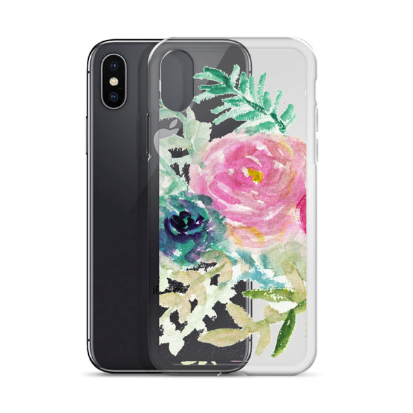 Pastel Pink & Purple Perfection, iPhone X | XS | XR | XS Max | 8 | 8+ | 7| 7+ |6/6S | 6+/6S+ Case- Made in USA-Phone Cases-Heidi Kimura Art LLC