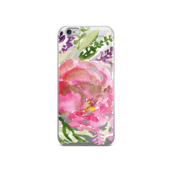 Light Pink Rose Flower Girlie Floral Print, iPhone Cellphone Phone Case- Made in USA-Phone Case-iPhone 6/6s-Heidi Kimura Art LLC