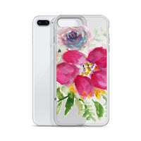 Summer Breeze Floral, iPhone X | XS | XR | XS Max | 8 | 8+ | 7| 7+ |6/6S | 6+/6S+ Case- Made in USA - Heidi Kimura Art LLC