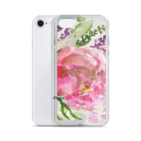 Lovely Vines Sweet Pink Rose Flower Girlie Floral, iPhone X | XS | XR | XS Max | 8 | 8+ | 7| 7+ |6/6S | 6+/6S+ Case- Made in USA - Heidi Kimura Art LLC
