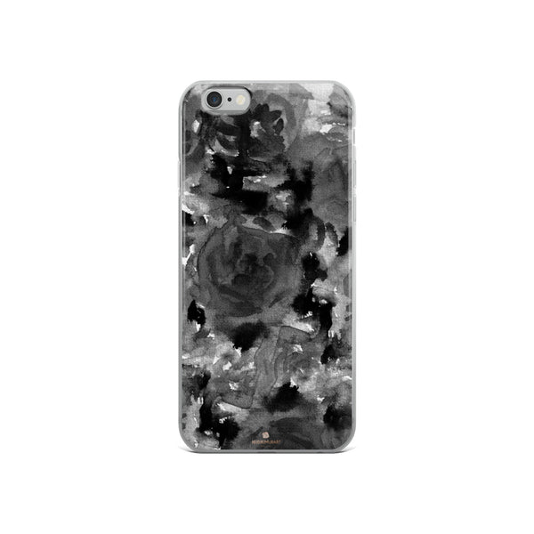 Crow Black Rose Floral, iPhone X | XS | XR | XS Max | 8 | 8+ | 7| 7+ |6/6S | 6+/6S+ Case- Made in USA-Phone Case-iPhone 6/6s-Heidi Kimura Art LLC