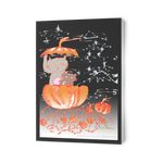 Pumpkin Cats of the Pacific Northwest Folded Greeting Cards, Sets of 10 pcs, 30 pcs, 50 pcs