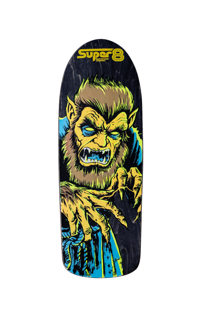 Lycan Pig - Screen Printed by Cat Palace - Super 8 Skateboard Company