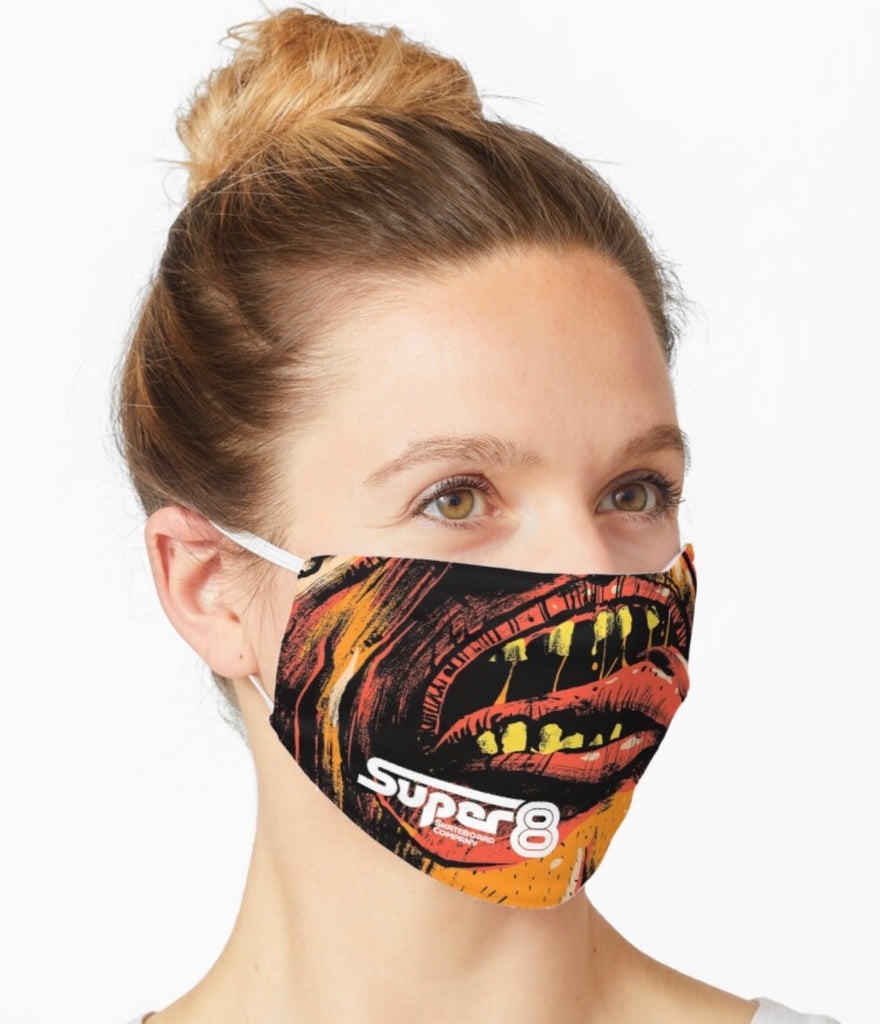 Quasi Safety Mask - Super 8 Skateboard Company