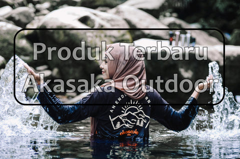 Produk outdoor terbaru Akasaka Outdoor