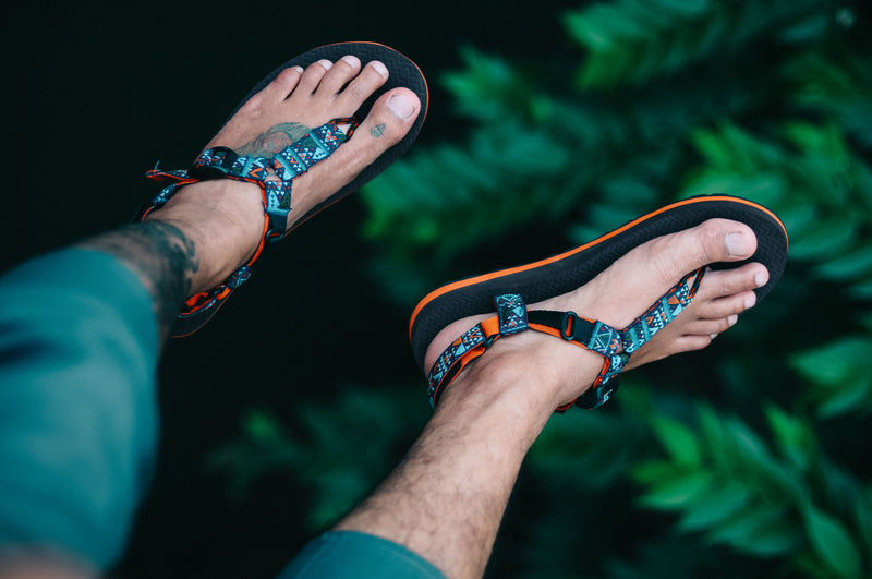 HAZEL TBS SANDAL ORANGE