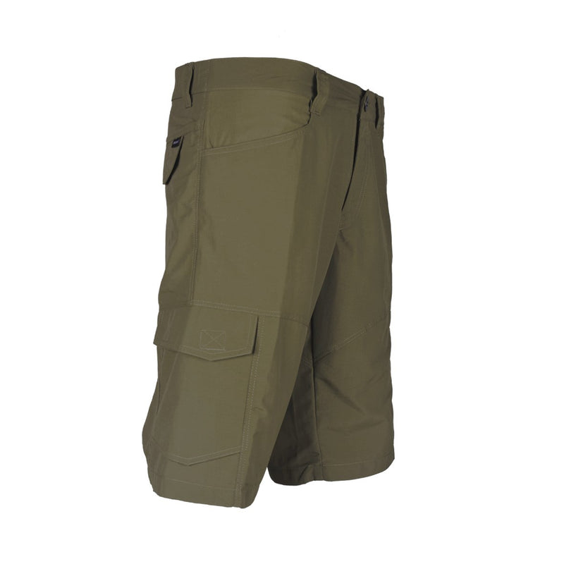 Blacklava Short Brown Tampak Kanan