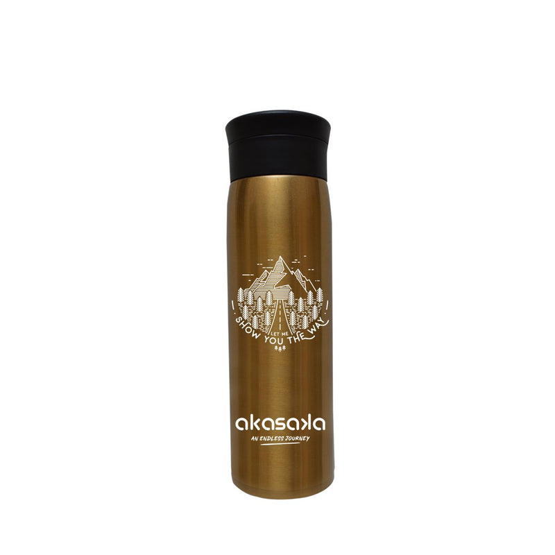 KASH TUMBLER DW 450ML GOLD