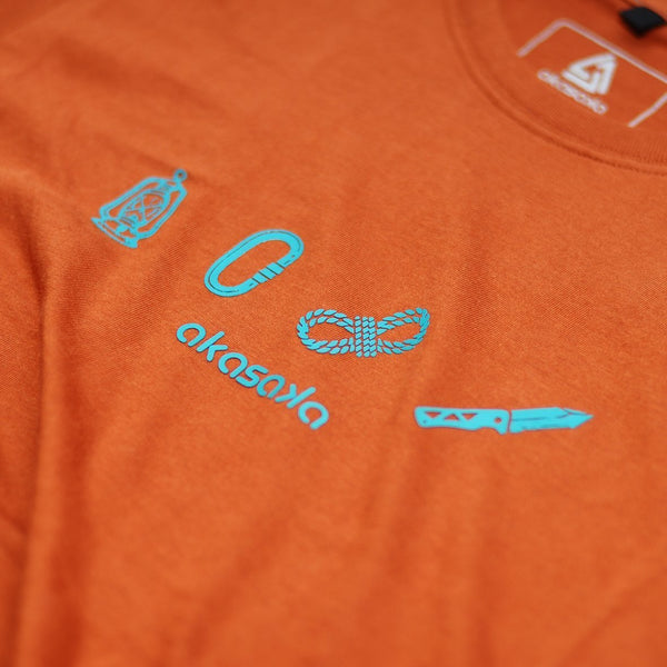 AKS KITS TEE TUSCANY ORANGE
