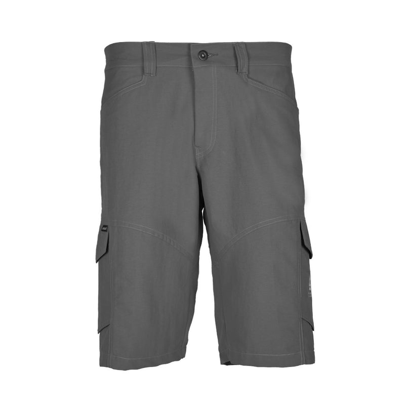 Blacklava Short Light Grey Tampak Depan