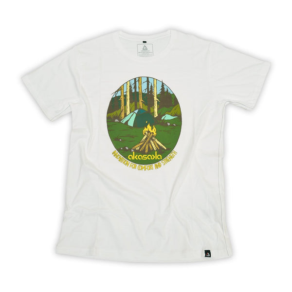CAMP VIBES TEE COTTON SEED