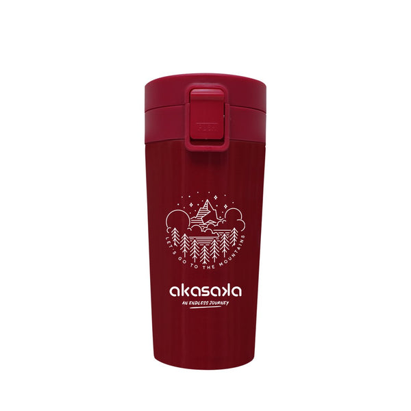 AVA TUMBLER DW 350ML RED