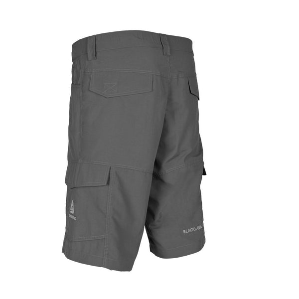 Blacklava Short Light Grey Tampak Belakang
