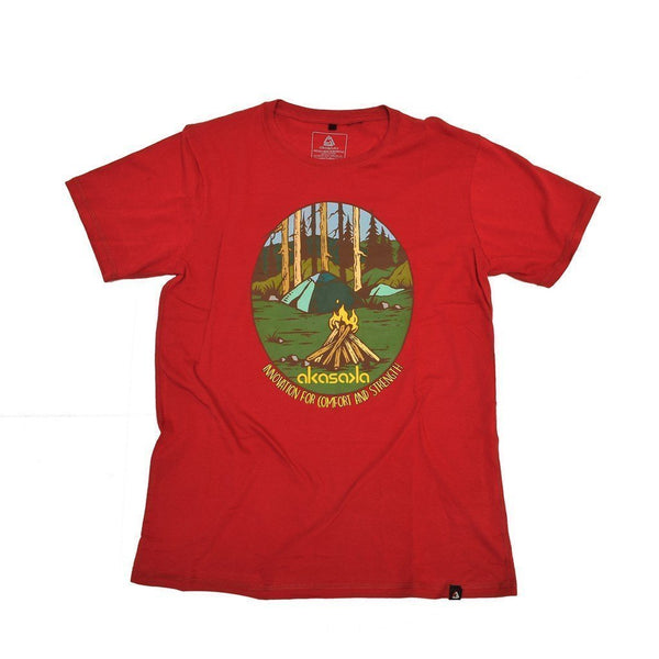 CAMP VIBES TEE OLD BRICK