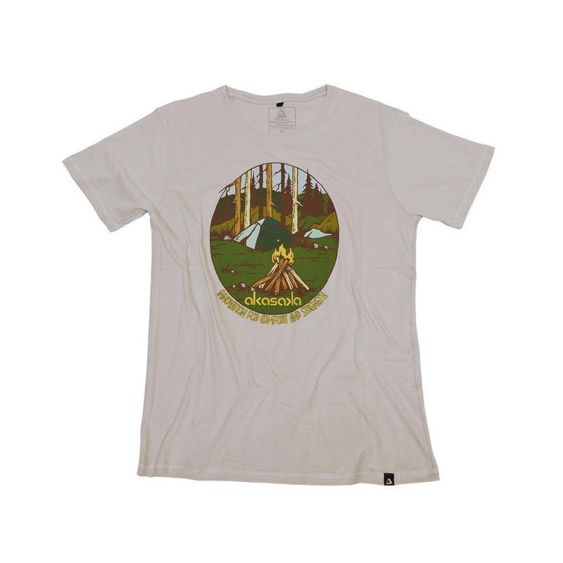 CAMP VIBES TEE GUN SMOKE