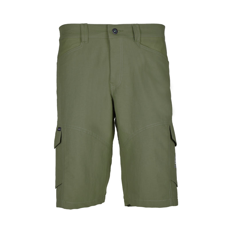 Blacklava Short Army Green Tampak Depan
