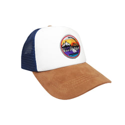 CHORS TRUCKER WHITE BLUE