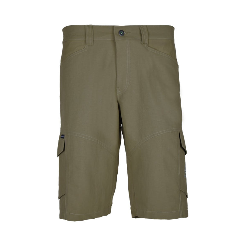 Blacklava Short Brown Tampak Depan