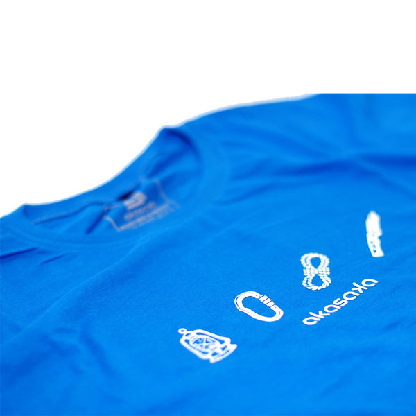 AKS KITS TEE NILE BLUE