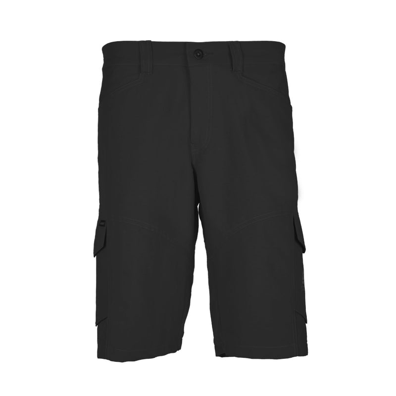 Blacklava Short Dark Grey Tampak Depan