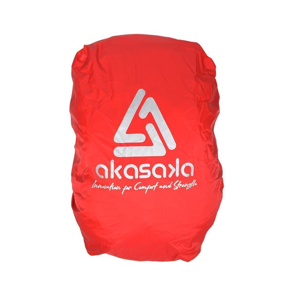 AKS RAIN COVER DAYPACK RED 30 L