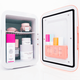 MAKEUP FRIDGE ™ Mini Réfrigérateur pour Maquillage Rose - Shebuel