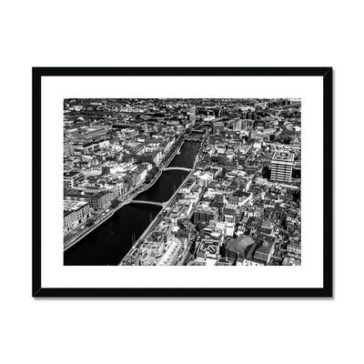 Liffey Bridges - B&W