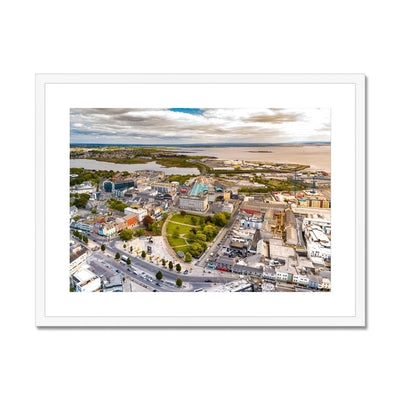 Eyre Square and Galway Bay - Stunning Ireland