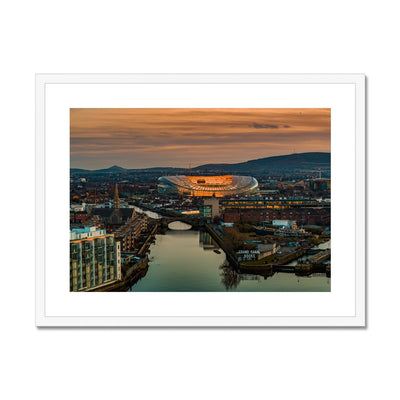 Aviva Stadium at Sunset - Stunning Ireland